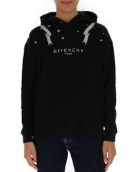 Givenchy - Logo Hoodie - Lyst