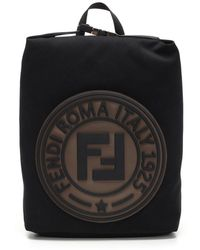 Fendi - Black Roma Italy 1925 Backpack - Lyst