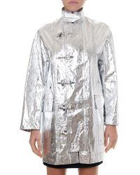 Dior - Foil Raincoat - Lyst