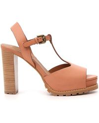 See By Chloé - Platform Ankle Strap Sandals - Lyst