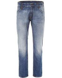 Moncler - X Fragment Straight Cut Jeans - Lyst