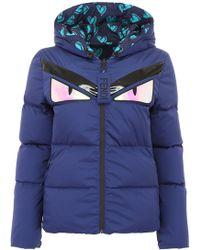 Fendi - Reversible Monster Puffer Jacket - Lyst