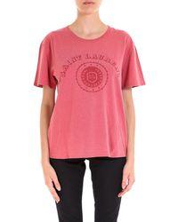 Saint Laurent - University T-shirt - Lyst
