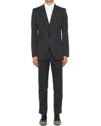 Dolce & Gabbana - Sicilia Three Piece Pinstriped Suit - Lyst
