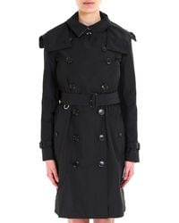 Burberry - Double Breasted Trench Coat - Lyst