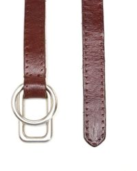 Golden Goose Deluxe Brand - Adjustable Buckle Belt - Lyst