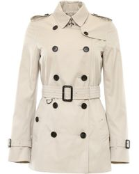 Burberry - Kensington Short Trench Coat - Lyst