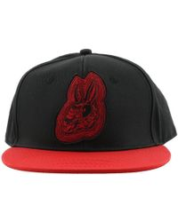 McQ - Bunny Embroidered Baseball Cap - Lyst