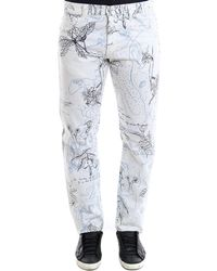 Alexander McQueen - Printed Trousers - Lyst
