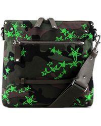 Valentino - Garavani Rockstud Camouflage Shoulder Bag - Lyst