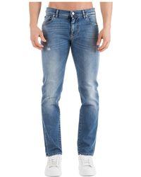 Dolce & Gabbana - Distressed Slim Fit Jeans - Lyst