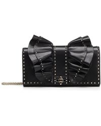 Valentino - Rockstud Bow Chain Shoulder Bag - Lyst