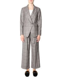 Brunello Cucinelli - Crossover Front Suit - Lyst
