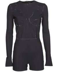 Maison Margiela - Long Sleeves Bodysuit - Lyst