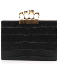 Alexander McQueen - Small Jewelled Four-ring Clutch - Lyst