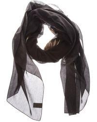 Dior Homme - Floral Skull Print Scarf - Lyst