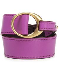 Céline - Leather Wrap Bracelet - Lyst