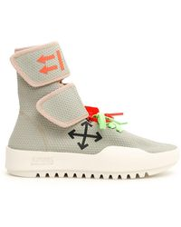 Off-White c/o Virgil Abloh - Moto Wrap Sneakers - Lyst