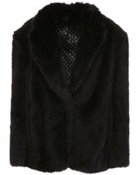 Alexander Wang - Faux Fur Coat - Lyst