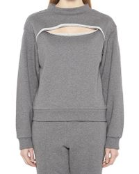 T By Alexander Wang - Terry French Sweatshirt - Lyst