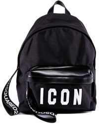 DSquared² - Embroidered Backpack - Lyst