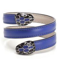 BVLGARI - Serpenti Forever Coiled Bracelet - Lyst