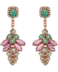 Mawi Firefly Crystal Drop Earrings - Lyst