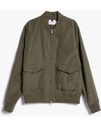 Topman | Olive Bomber Jacket | Lyst