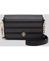 Tory Burch Shoulder Bag - Robinson Perforated Adjustable - Lyst