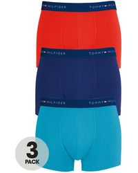 Tommy Hilfiger Mens Stew Trunks 3 Pack - Lyst