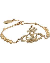 Vivienne Westwood Isolde Bas Relief Bracelet - Lyst