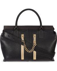 Chloé Cate Medium Grained Calf Leather Shoulder Bag Black - Lyst