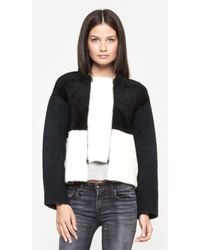 Opening Ceremony Black Sophie Shearling - Lyst