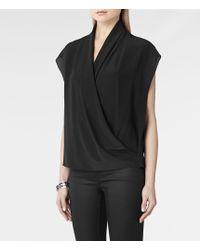 AllSaints Sonali Shirt - Lyst