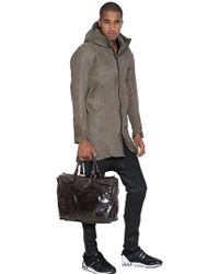Officine Creative - Brushed Leather Satchel - Lyst