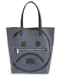 Marc By Marc Jacobs 'Unsmiley' Tote - Lyst