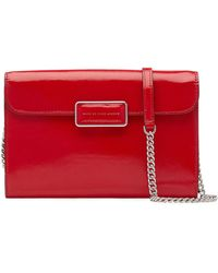 Marc By Marc Jacobs Pegg Patent Leather Shoulder Bag - Lyst