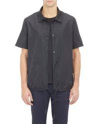 Acne Studios Tech Shirt Jacket - Lyst