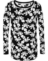 Thakoon Addition Knit Floral Crew Neck - Lyst