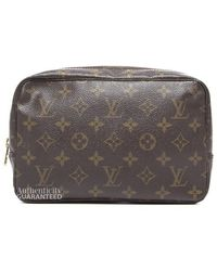Louis Vuitton Trousse 23 Cosmetic Pouch - Lyst
