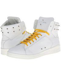 Alexander McQueen High Top Sneaker - Lyst