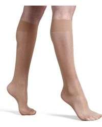 Wolford Satin Touch Knee-highs - Lyst