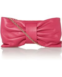 RED Valentino Block Pink Bow Cross Body Bag - Lyst