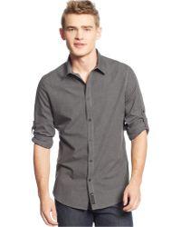 Calvin Klein Jeans Roll-tab Check Shirt - Lyst