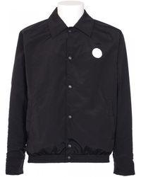 Kenzo Nylon Fantasy Blue And White Reversible Jacket - Lyst