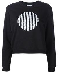 Carven | Front Print Sweatshirt | Lyst