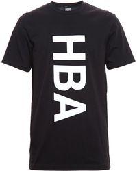 Hood By Air Logo Print Cotton Tshirt - Lyst
