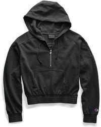 Champion - Life® Vintage Dyed Fleece Half Zip Hood - Lyst