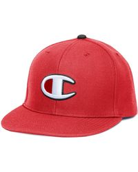 7459f5d7f3e Lyst - Champion Lifetm Snapback Baseball Hat With Big
