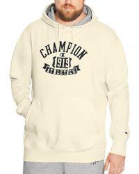 Champion | Big & Tall Heritage Fleece Hoodie | Lyst